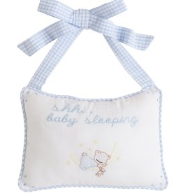 Little English Baby Door Pillow