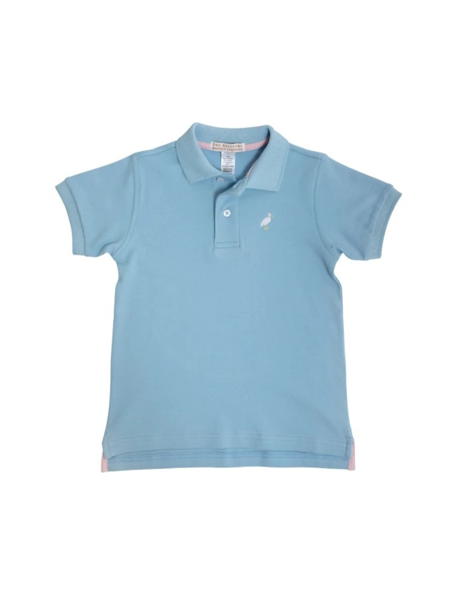 The Beaufort Bonnet Company Short Sleeve Prim And Proper Polo