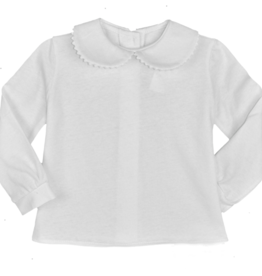 Funtasia Too Knit Blouse With White Ric Rac