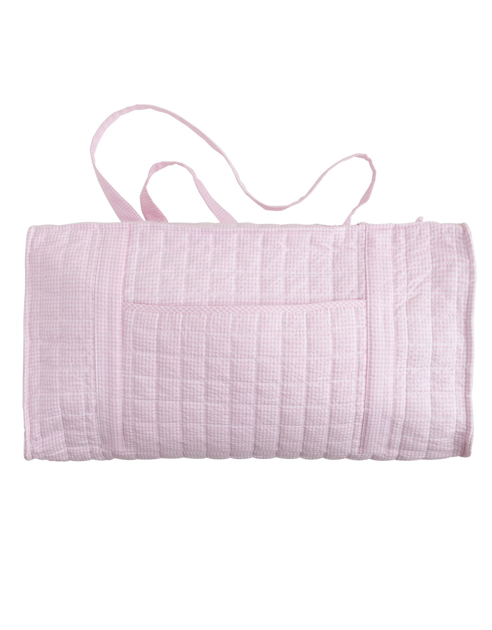 Little English Quilted Luggage Duffle Solid