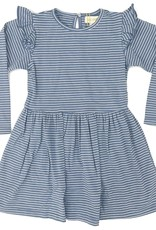 Blue Stripped Megan Dress