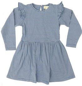 Siaomimi Blue Stripped Megan Dress