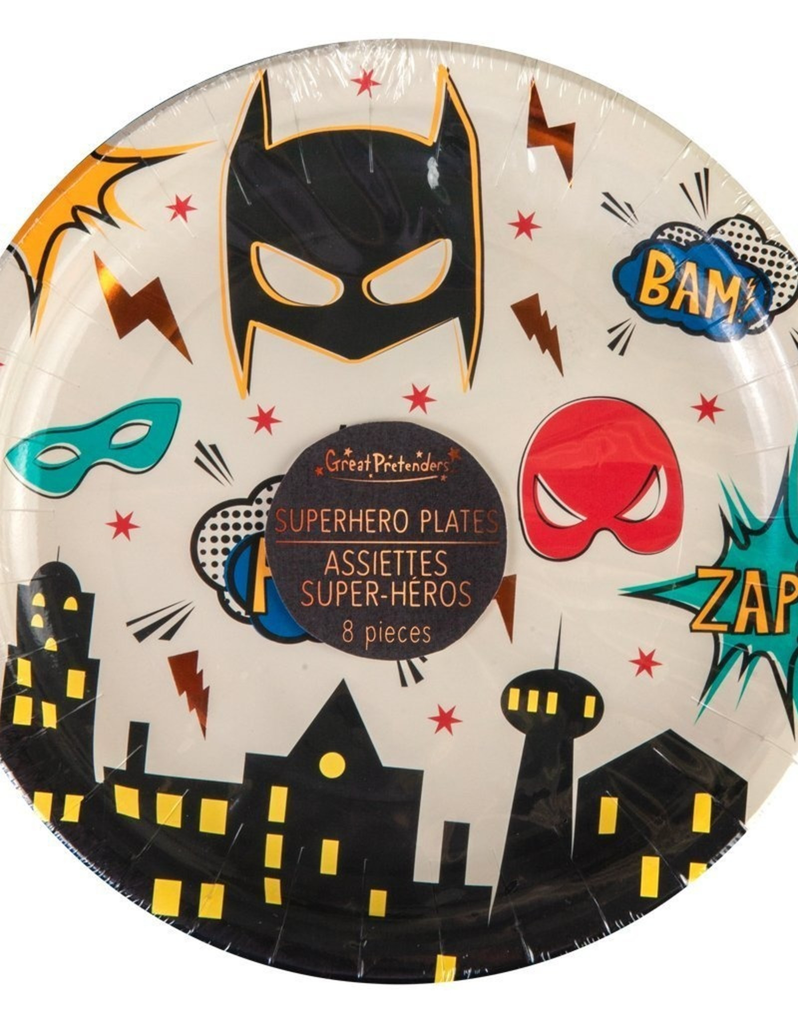 Great Pretenders Birthday Plates 8 Count