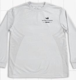 Southern Marsh Light Gray FieldTec Gulf Stream Performance Shirt