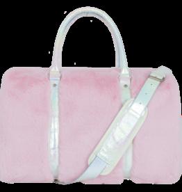 Iscream Rose Furry Duffle Bag