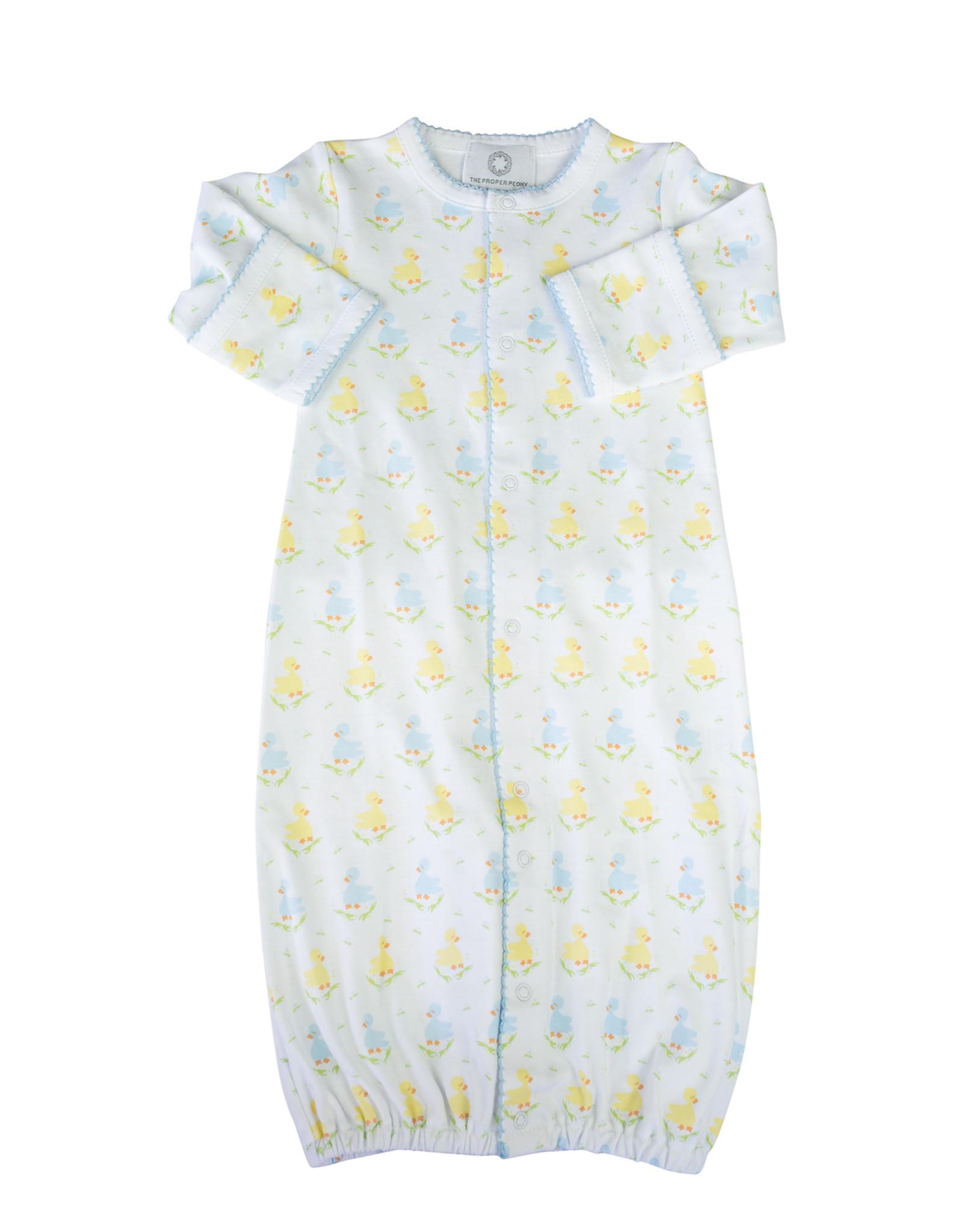 The Proper Peony Blue Ducks Converter Gown