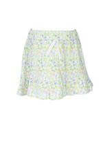 The Proper Peony Garden Floral Girl Skirt