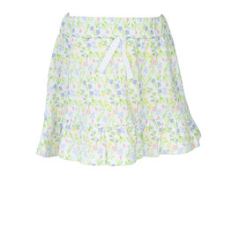 The Proper Peony Garden Floral Girl Skirt