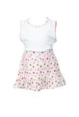 The Proper Peony Strawberries Girl Tank Shirt