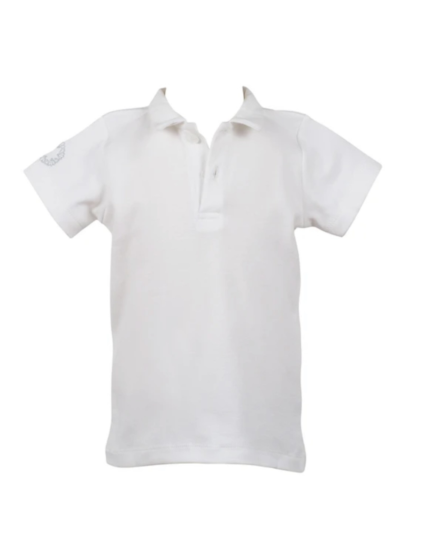 The Proper Peony White Proper Polo Shirt