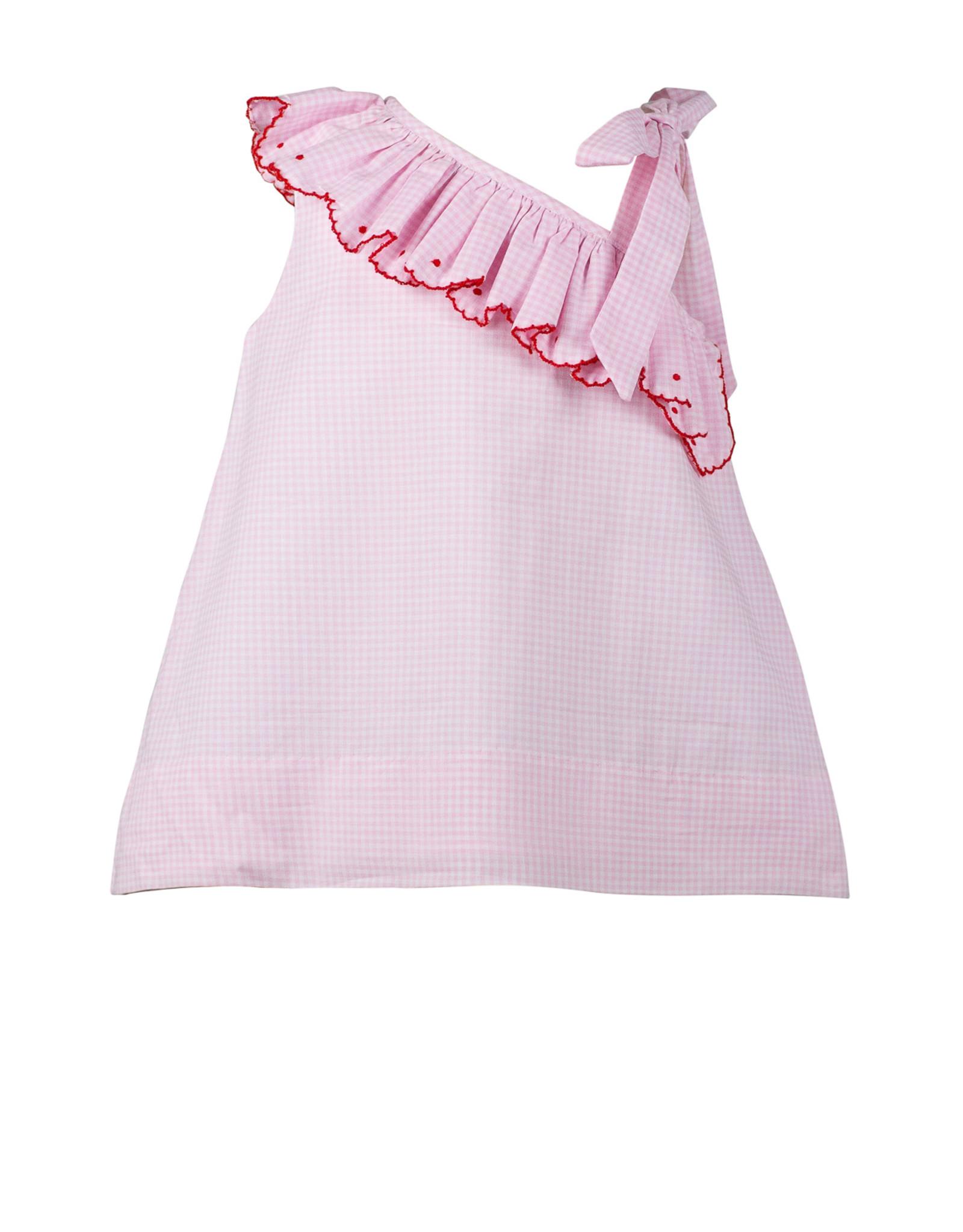 The Proper Peony Phillippa One Shoulder Dress