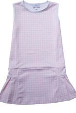 James and Lottie Penny Pink Gingham Tennis Dress