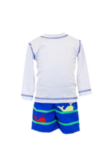 Florence Eiseman Swim Trunks With Whales