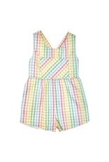 The Beaufort Bonnet Company Reagan Romper with Snaps