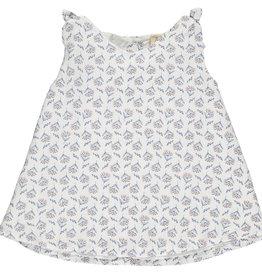 Vignette Cream Floral Clover Top