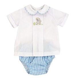 The Beaufort Bonnet Company Puppy Shadow Work Diaper Cover