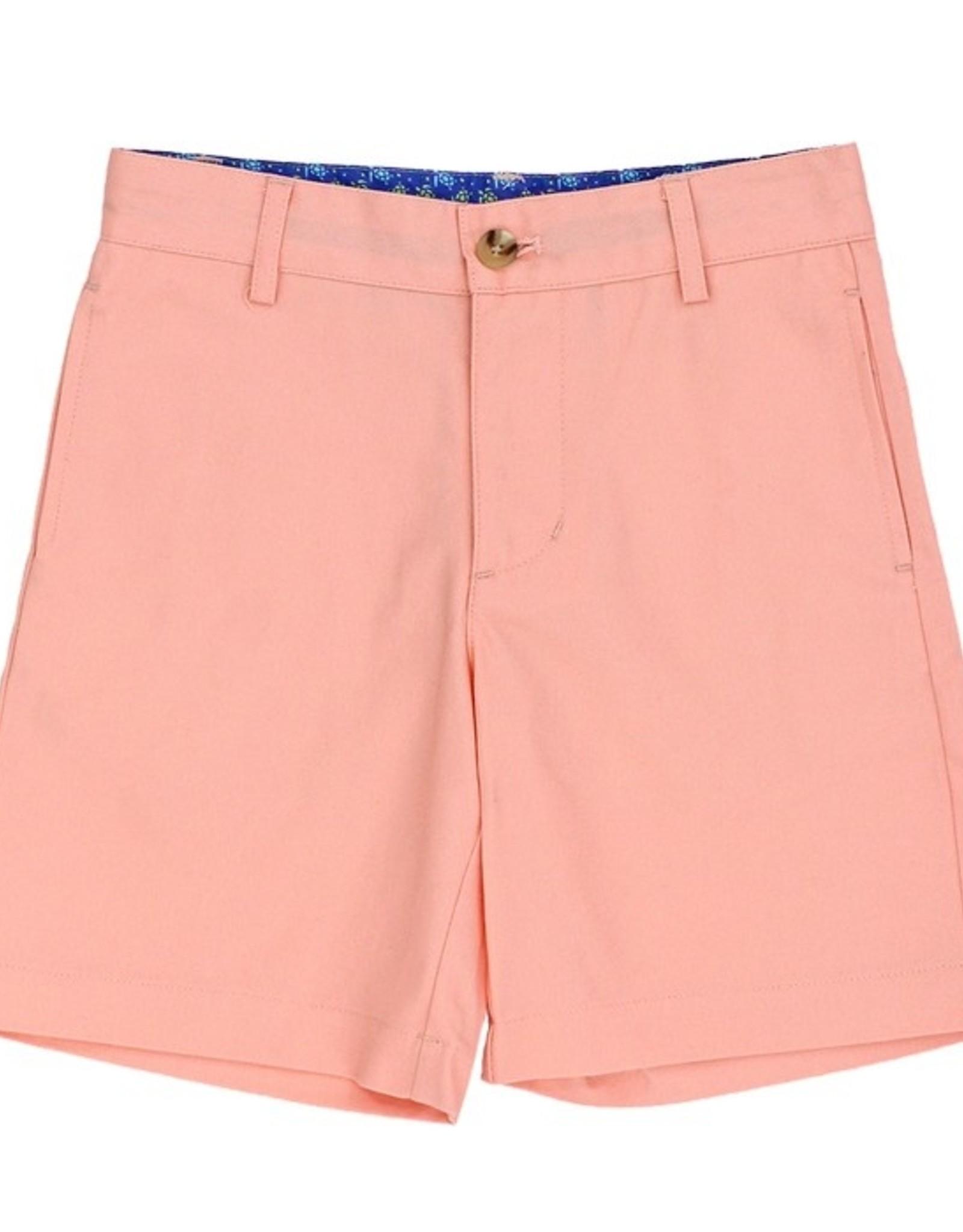 The Bailey Boys Cantaloupe Twill Shorts
