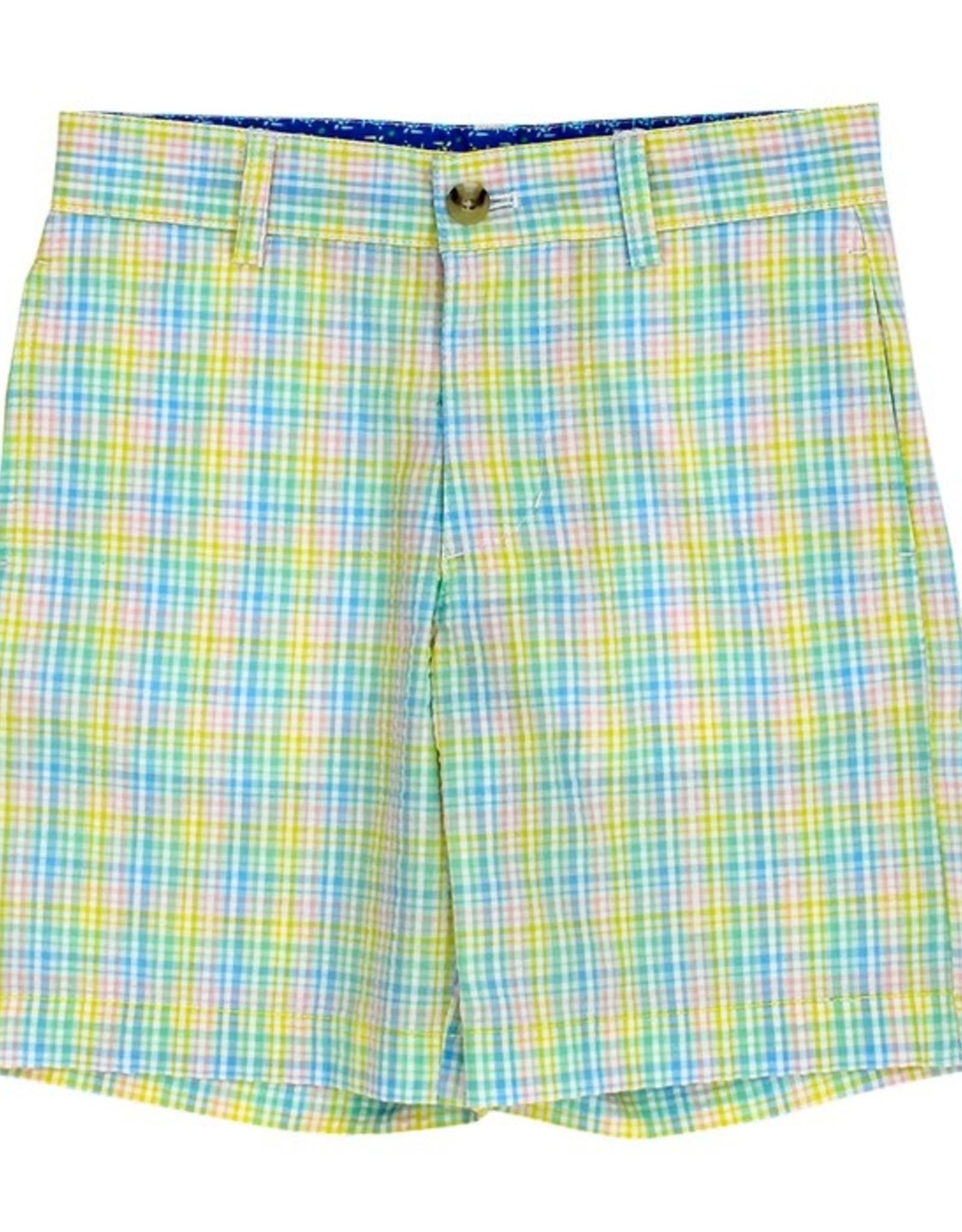 The Bailey Boys Preppy Seersucker Shorts