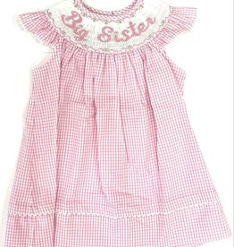 Claire and Charlie Big Sister Angel Wing Bishop Dress
