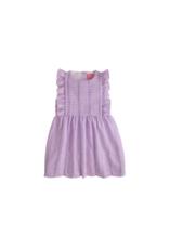 Little English Purple Seersucker Saratoga Dress