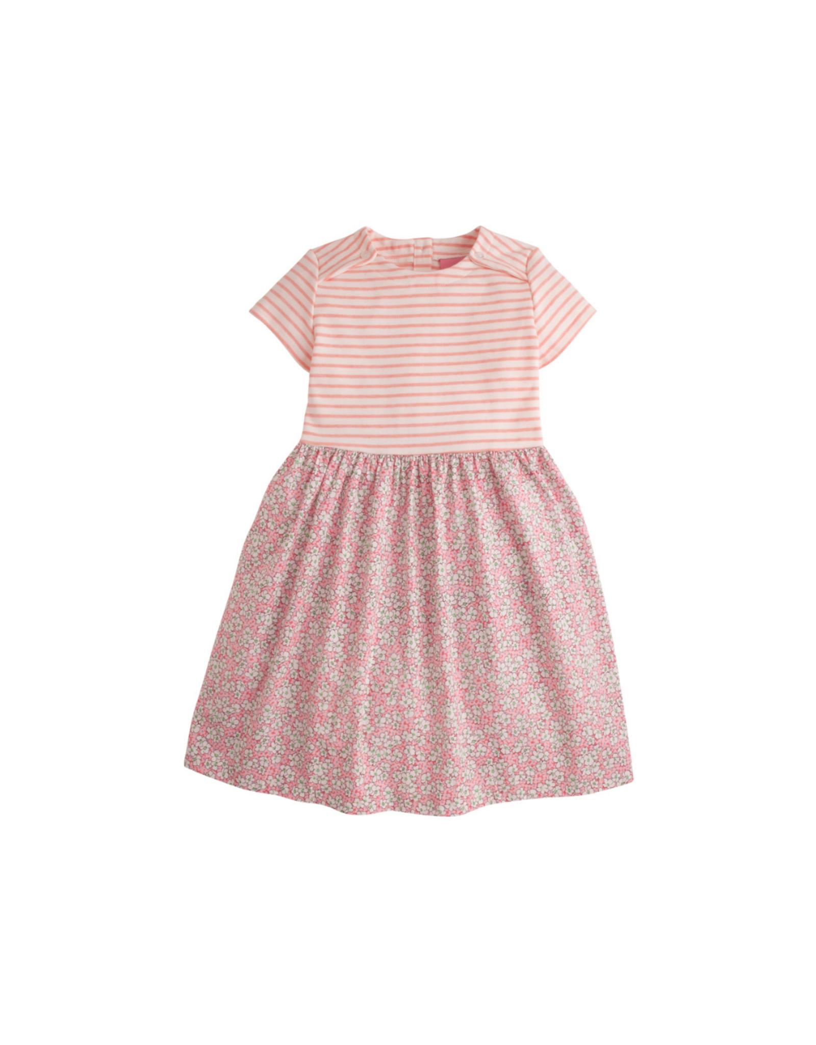 Little English Pink Daisies Rosie Dress