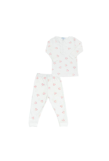 Nella Heart Print Pajamas