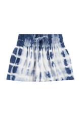 Bella Dahl Girl Indigo Tie Dye Flowy Shorts