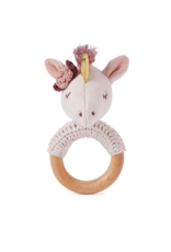 Elegant Baby Ring Rattle
