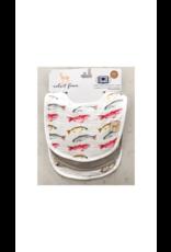 Velvet Fawn Monday Special / Eat More Seafood Bib Set