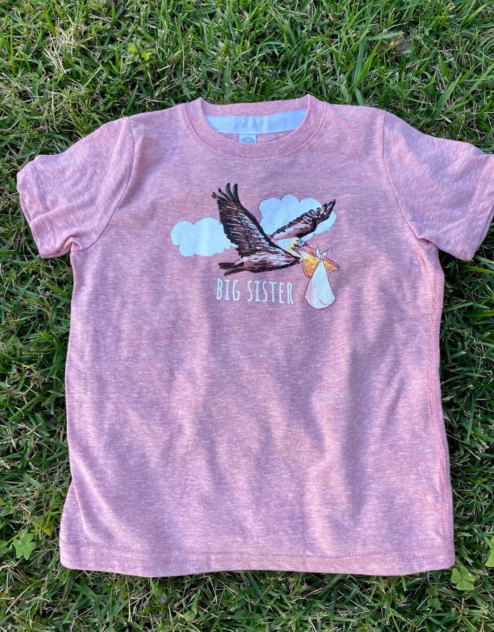 Mauve Big Sister Shirt