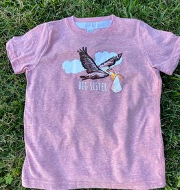 Two Sprouts Mauve Big Sister Shirt