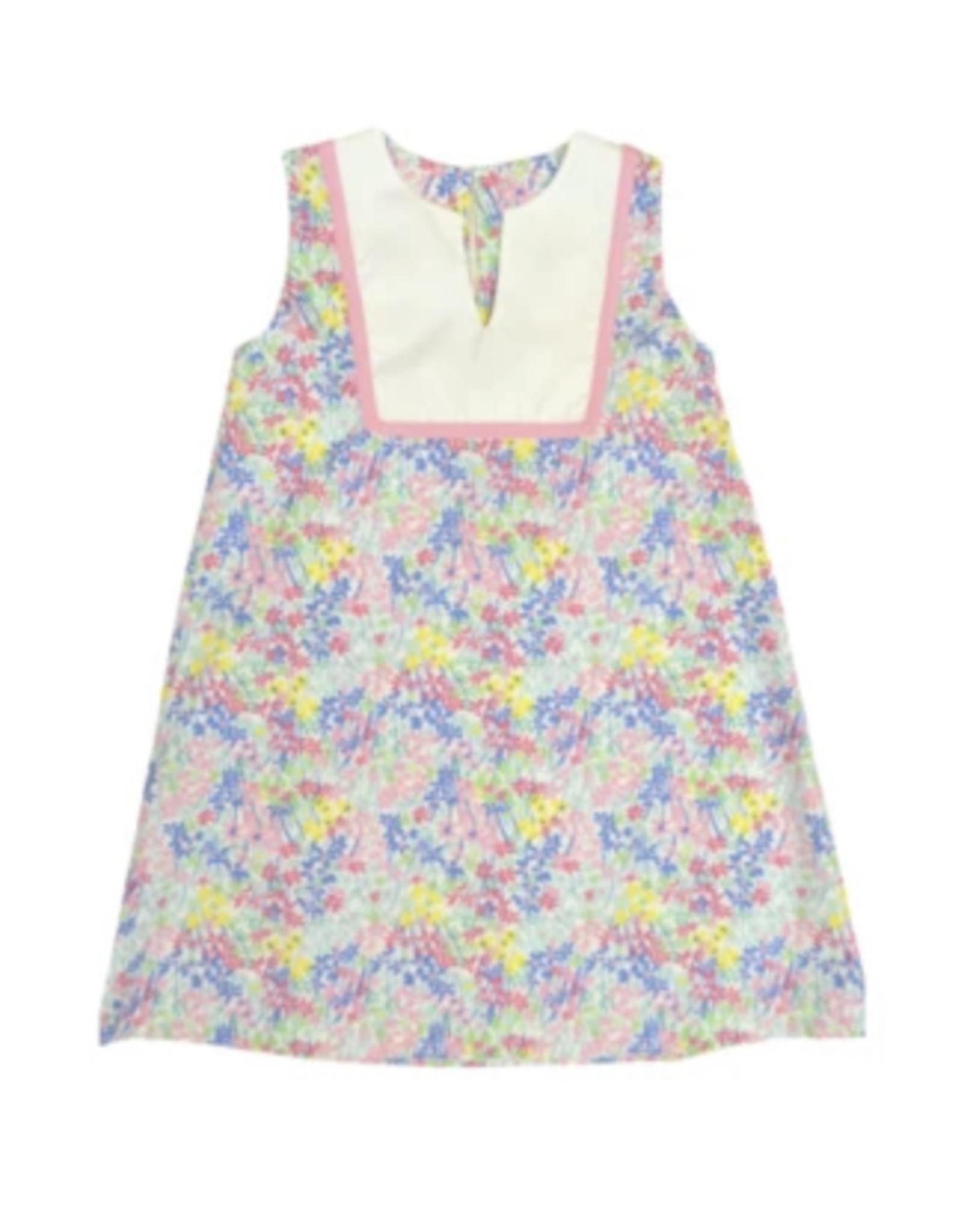 In Full Bloom V-Neck Shift Dress
