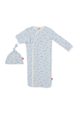 Magnetic Me Baa Baa Baby Modal Magnetic Gown Set