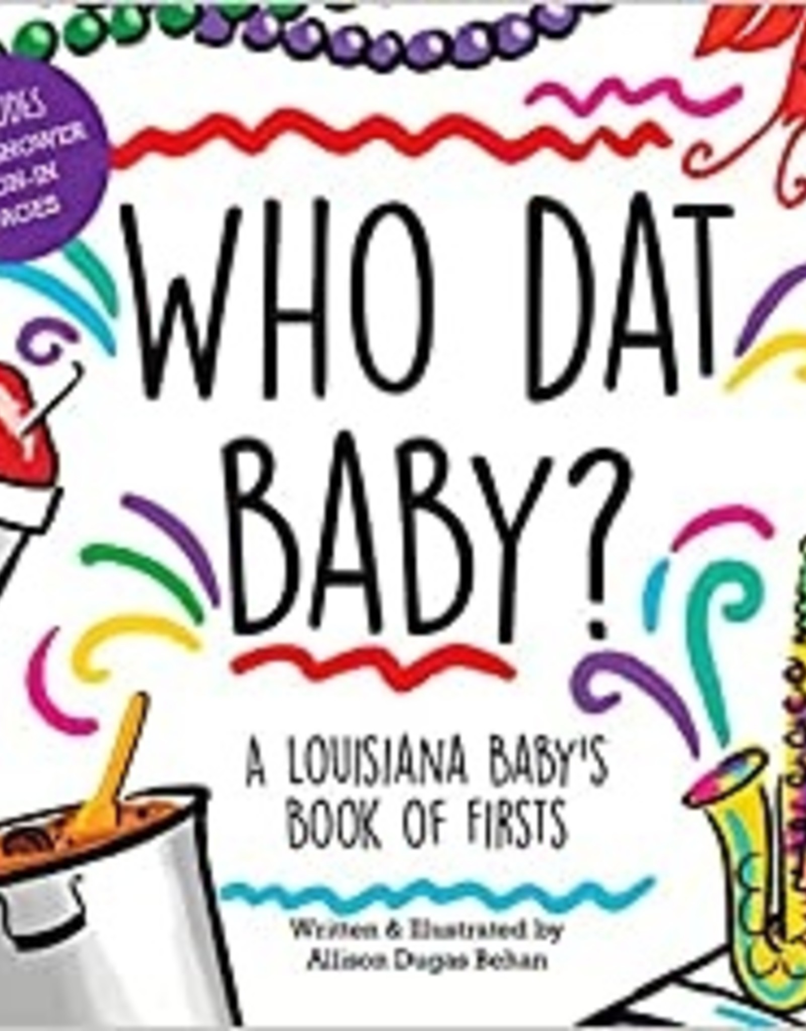 River Road Press Who Dat Baby