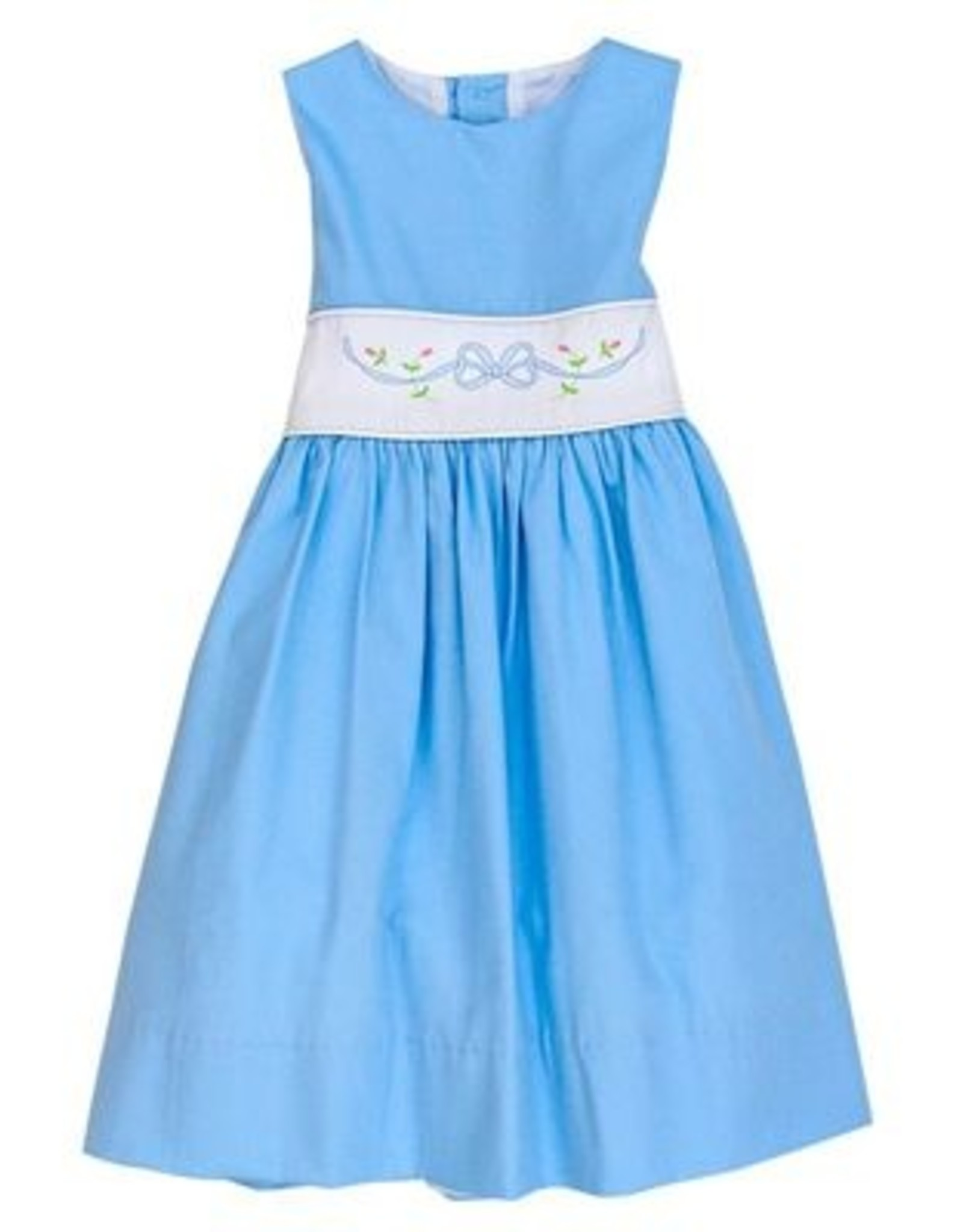 The Bailey Boys Blue Bonnet Dress