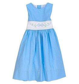 The Bailey Boys Blue Bonnet Dress