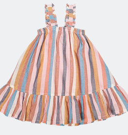 Pink Chicken Emma Multi Stripe Dress