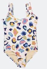 Pink Chicken Multi Leopard Swimsuit