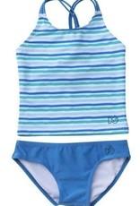 Prodoh Blue Perennial Tankini Swim Set