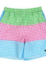 The Bailey Boys Multi Check Board Shorts