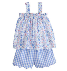 Little English Kylee Short Set Rosemary Floral
