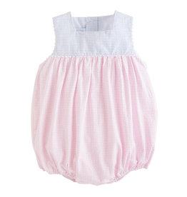 Little English Madison Bubble Pink Seersucker
