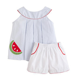 Little English Watermelon Robin Short Set