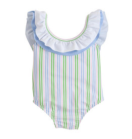 Little English Summer Stripe Breezy One Piece