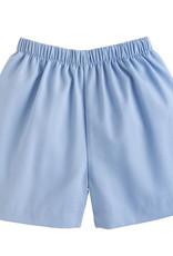 Little English Light Blue Twill Basic Short