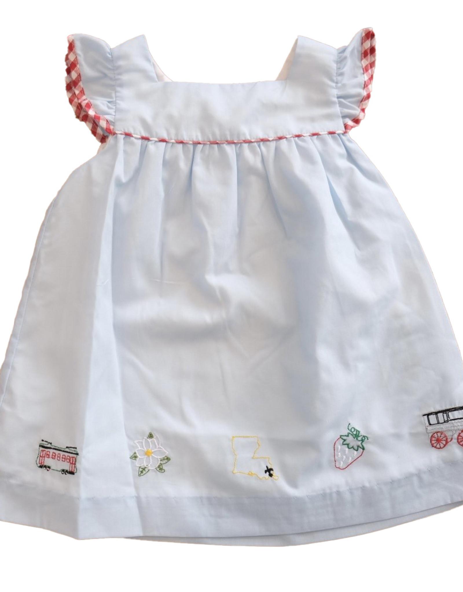Krewe Kids LA Summer Dress