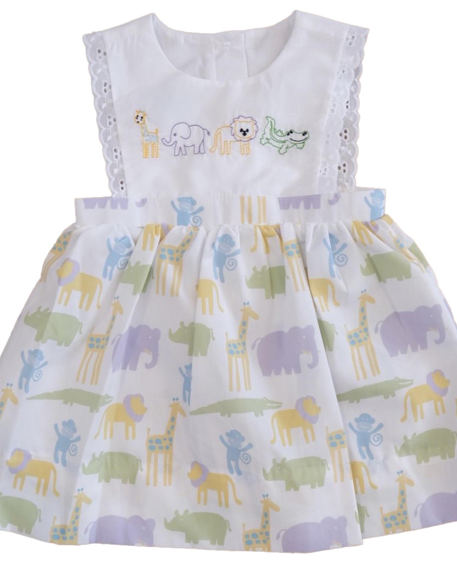Krewe Girls Zoo Dress