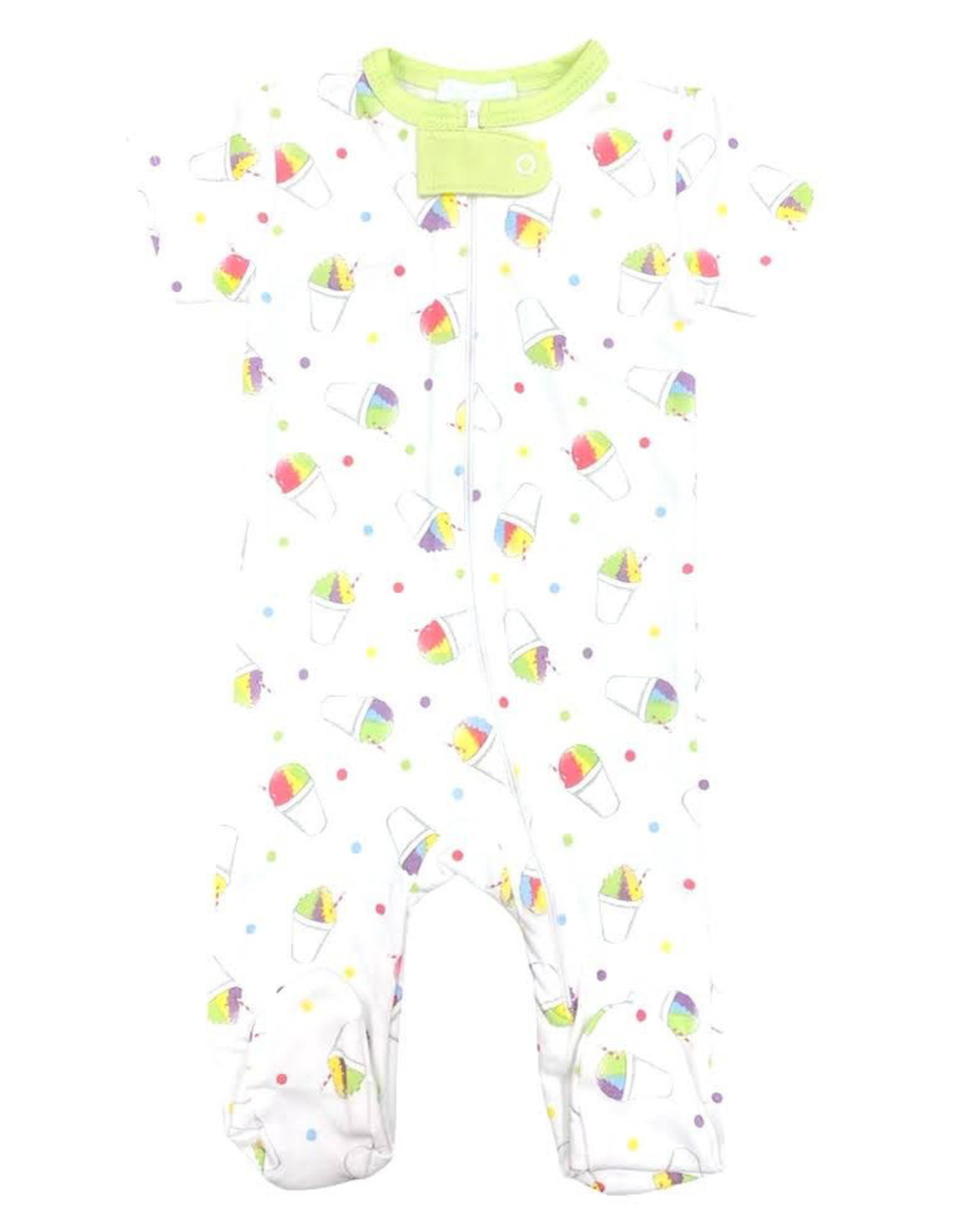 Lulu Bebe LLC Snoball Boy Footless PJ