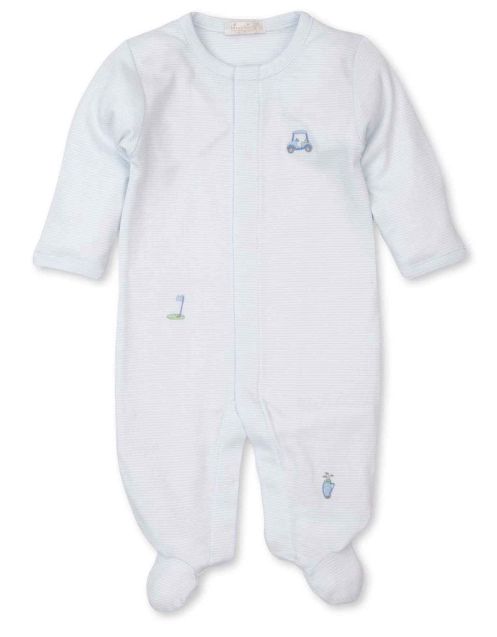 Kissy Kissy Premier Golf Embroidered Footie