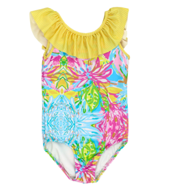 The Bailey Boys Girls Poolside Spandex Swimsuit